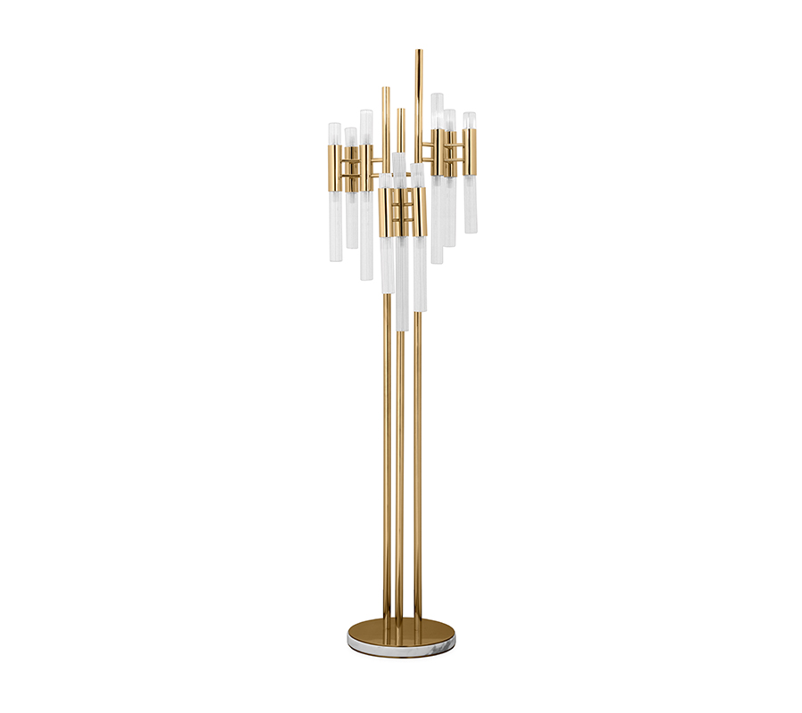 floor lamps 20 Floor Lamps That Will Transform Your Space WATERFALL