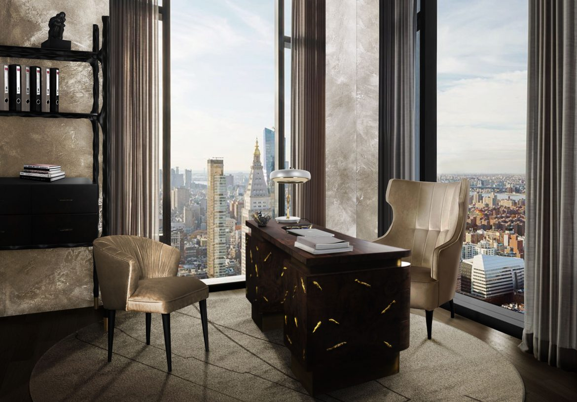 luxury desks Working From Home: 15 Luxury Desks You Can Buy Online pdr971yq