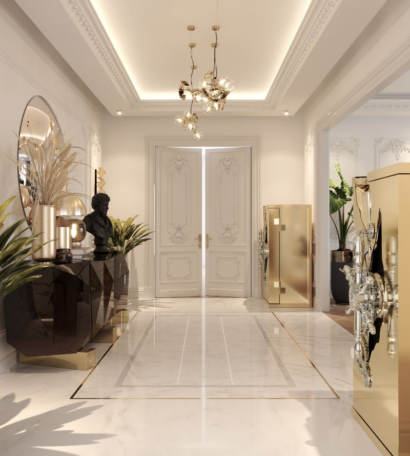 luxury penthouse Take A Look At This Parisian Luxury Penthouse 18 13