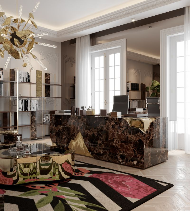 luxury penthouse Take A Look At This Parisian Luxury Penthouse 20 12