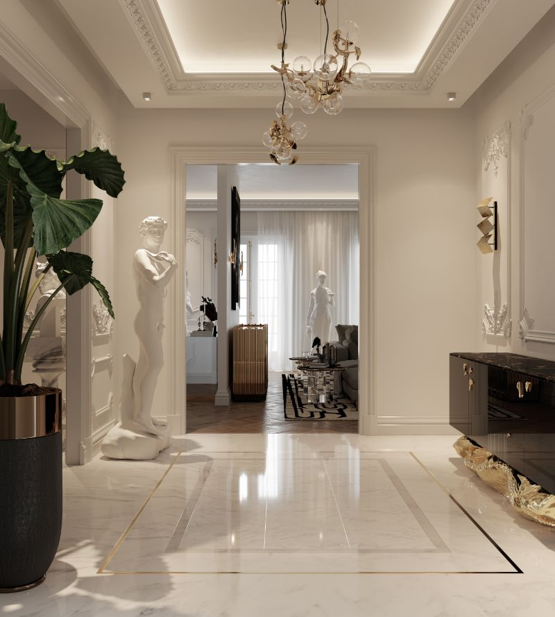 luxury penthouse Take A Look At This Parisian Luxury Penthouse 22 3