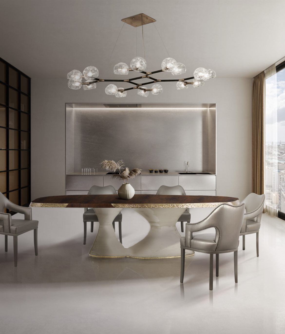 dining chairs 25 Dining Chairs That Fit In Any Design Project BB Ambiente Plateau N20 Dining Horus 1