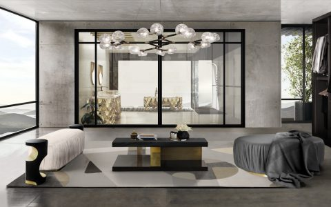 suspension lamps Suspension Lamps: 20 Ideas To Transform Your Design Into Art BB Ambiente Design Forces 1 480x300