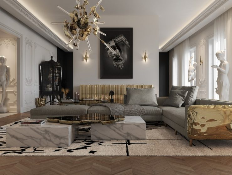 luxury penthouse Take A Look At This Parisian Luxury Penthouse Inside An Opulent Multimillion Dollar Penthouse In Paris By Boca do Lobo ft 740x560