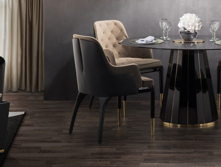 dining chairs 25 Dining Chairs That Fit In Any Design Project darian dining table cover 02 740x560  Home darian dining table cover 02 740x560