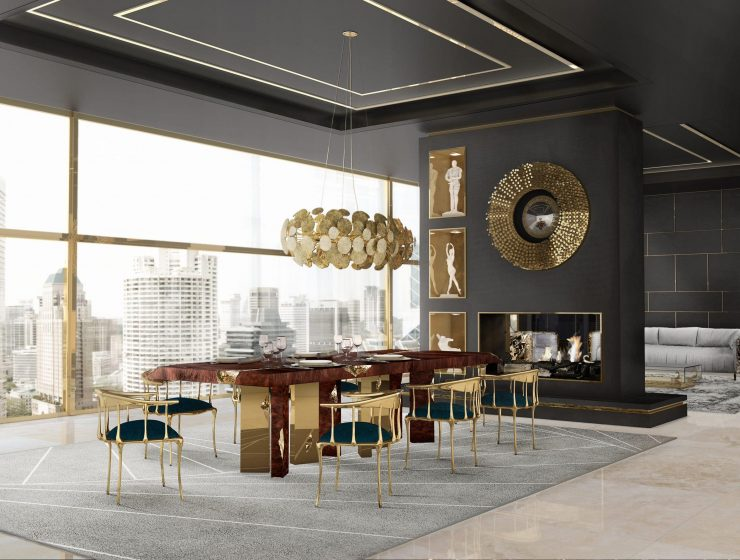 chandeliers 25 Amazing Chandeliers To Make A Design Statement dining room ambience 01 master 740x560  Home dining room ambience 01 master 740x560