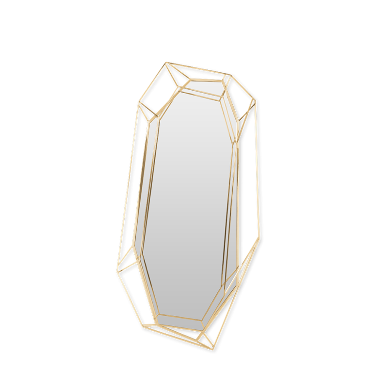 wall mirrors 18 Wall Mirrors To Decorate Your Walls 10 1