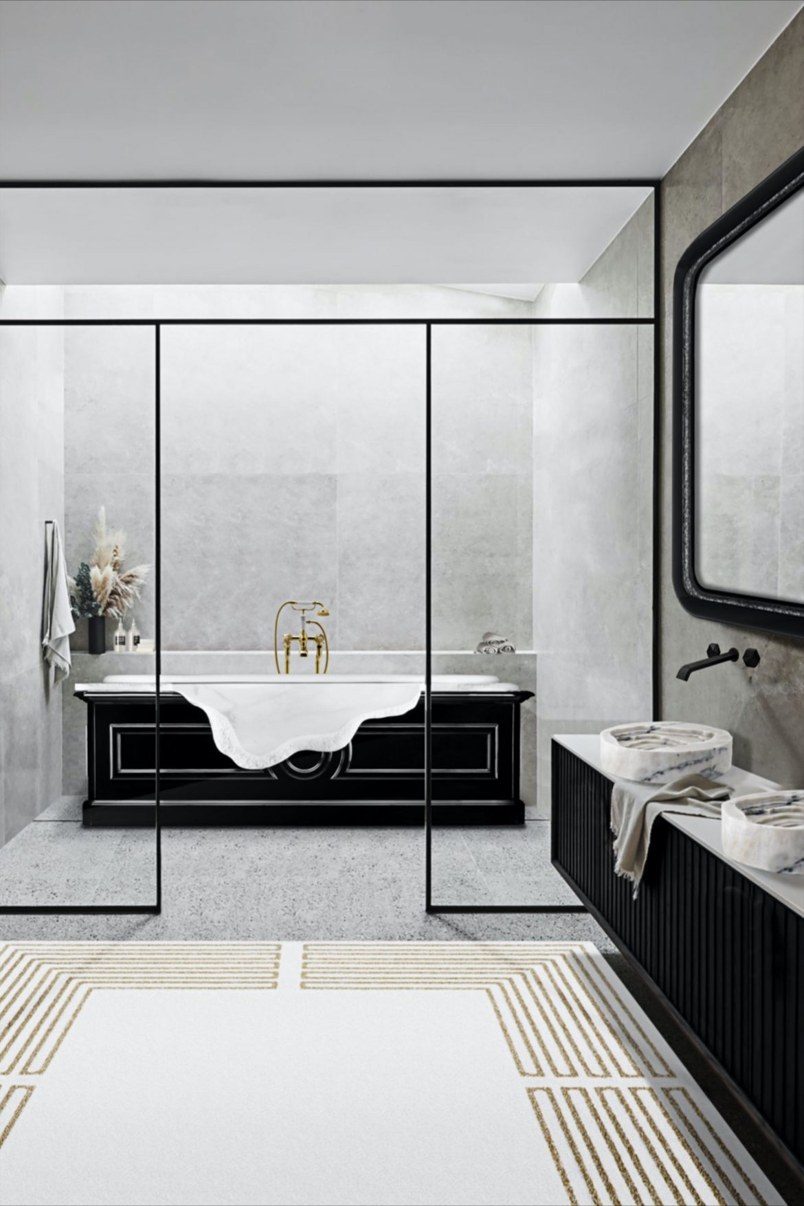 13 Bathtubs That Will Transform Your Bathroom bathtubs 13 Bathtubs That Will Transform Your Bathroom 1ef17155840f763dcc3eab7e1d9401a5