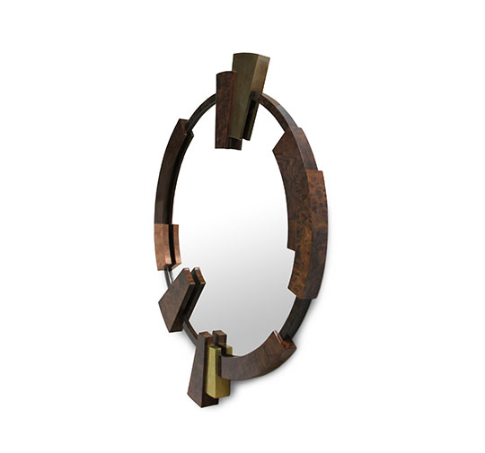 wall mirrors 18 Wall Mirrors To Decorate Your Walls 7 13