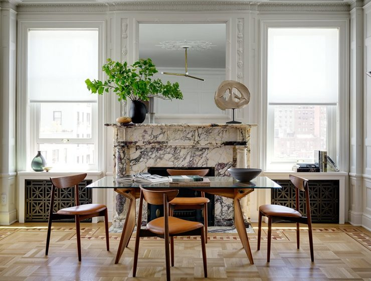 new york city The Best Interior Designers From New York City – PART I BF Riverside SittingRmTable b 740x560