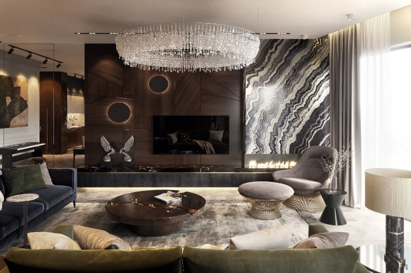 moscow Moscow: 20 Amazing Design Projects Earth Tones Set The Mood In This Luxury Moscow Apartment 1