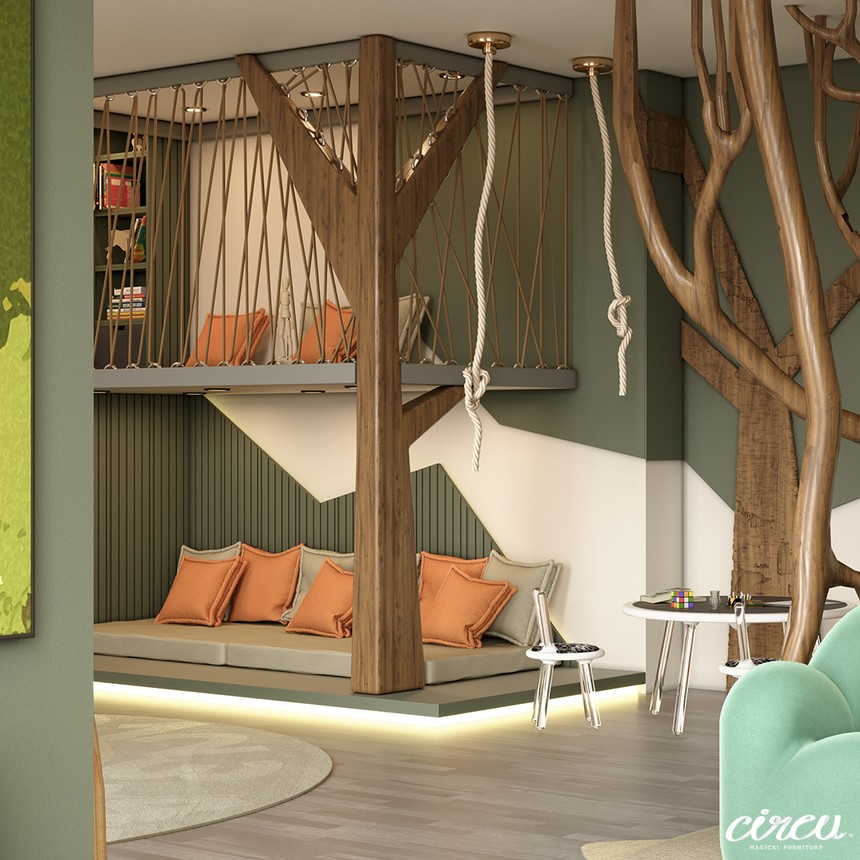 kids room Kids Room Ideas: A Luxury Project Inspired By Nature 1 17
