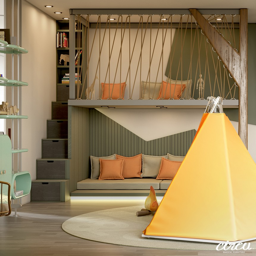 kids room Kids Room Ideas: A Luxury Project Inspired By Nature 5 14