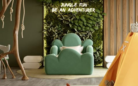 kids room Kids Room Ideas: A Luxury Project Inspired By Nature  7 11 480x300