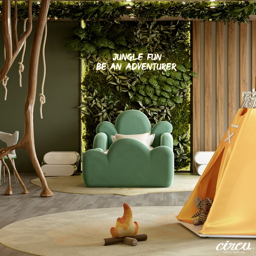 kids room Kids Room Ideas: A Luxury Project Inspired By Nature 7 11