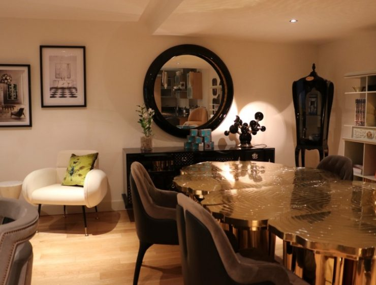 dining room Covet London: Take A Look At This Amazing Dining Room  Covet London The Refurnishing Extravaganza 7 740x560