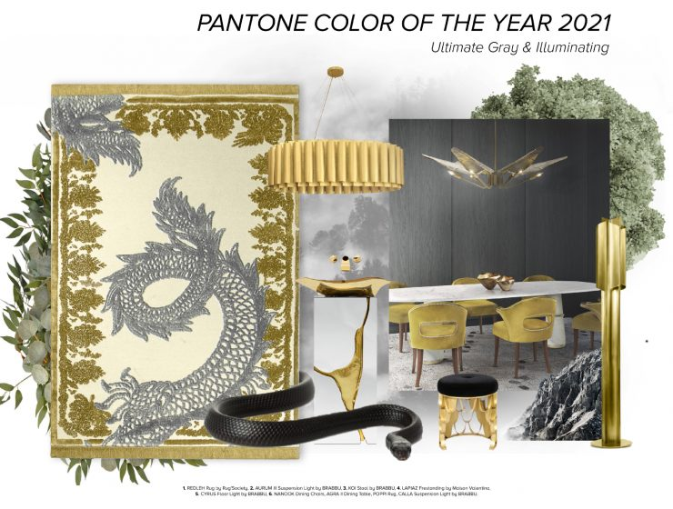 color of the year Color Of The Year 2021: Ultimate Gray and Illuminating  trends 1 740x560