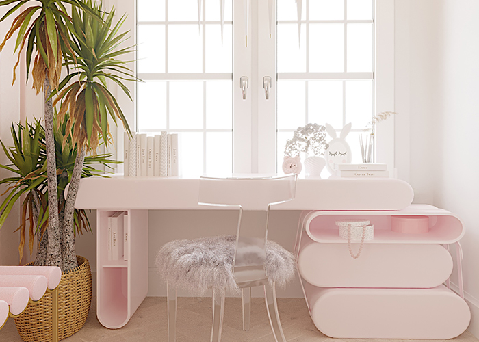 odessa Odessa: The Best Design Projects whimsical pink room 3