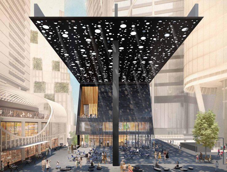 adjaye associates Adjaye Associates: 10 Amazing Design Projects 01 Hero Geroge Street Plaza 72 740x560