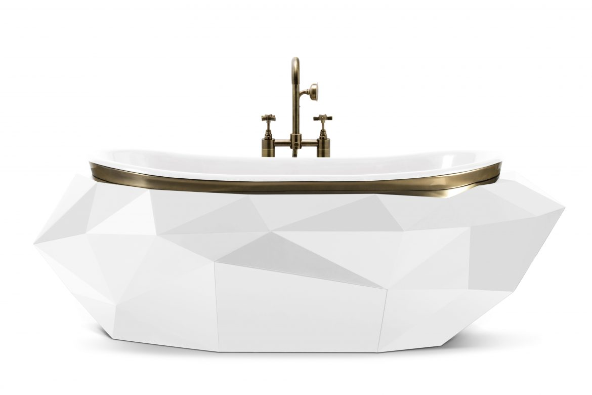 modern classic mansion Take A Look At This Modern Classic Mansion In Egypt diamond bathtub 7 HR