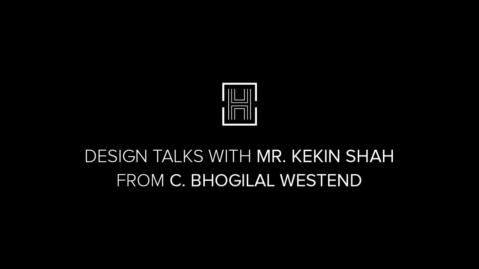 Get To Know Design Talks The Newest Project Of Home'Society