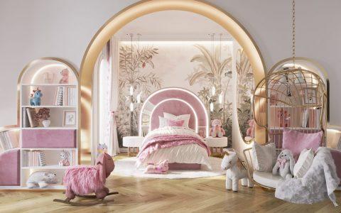 we wnętrzu Kids Bedroom Ideas: A Blossom Fairytale By We Wnętrzu 1 25 480x300