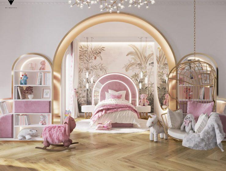 we wnętrzu Kids Bedroom Ideas: A Blossom Fairytale By We Wnętrzu 1 25 740x560