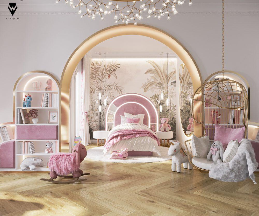 we wnętrzu Kids Bedroom Ideas: A Blossom Fairytale By We Wnętrzu 1 25