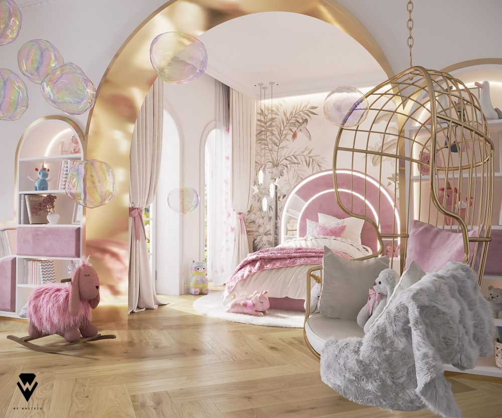 we wnętrzu Kids Bedroom Ideas: A Blossom Fairytale By We Wnętrzu 2 26