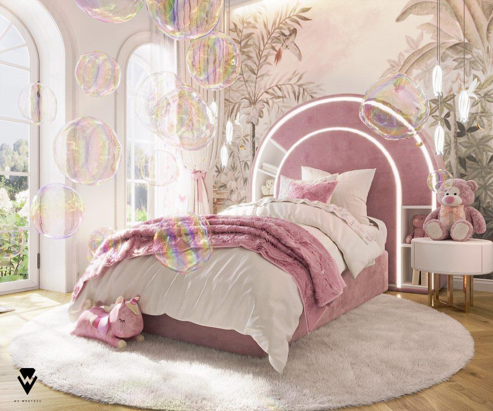 we wnętrzu Kids Bedroom Ideas: A Blossom Fairytale By We Wnętrzu 3 26
