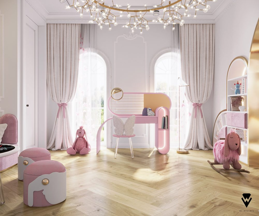 we wnętrzu Kids Bedroom Ideas: A Blossom Fairytale By We Wnętrzu 4 26
