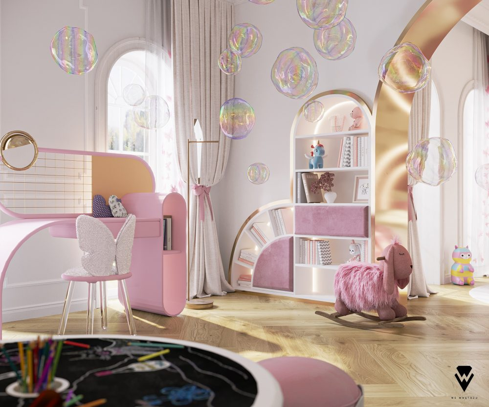we wnętrzu Kids Bedroom Ideas: A Blossom Fairytale By We Wnętrzu 5 26