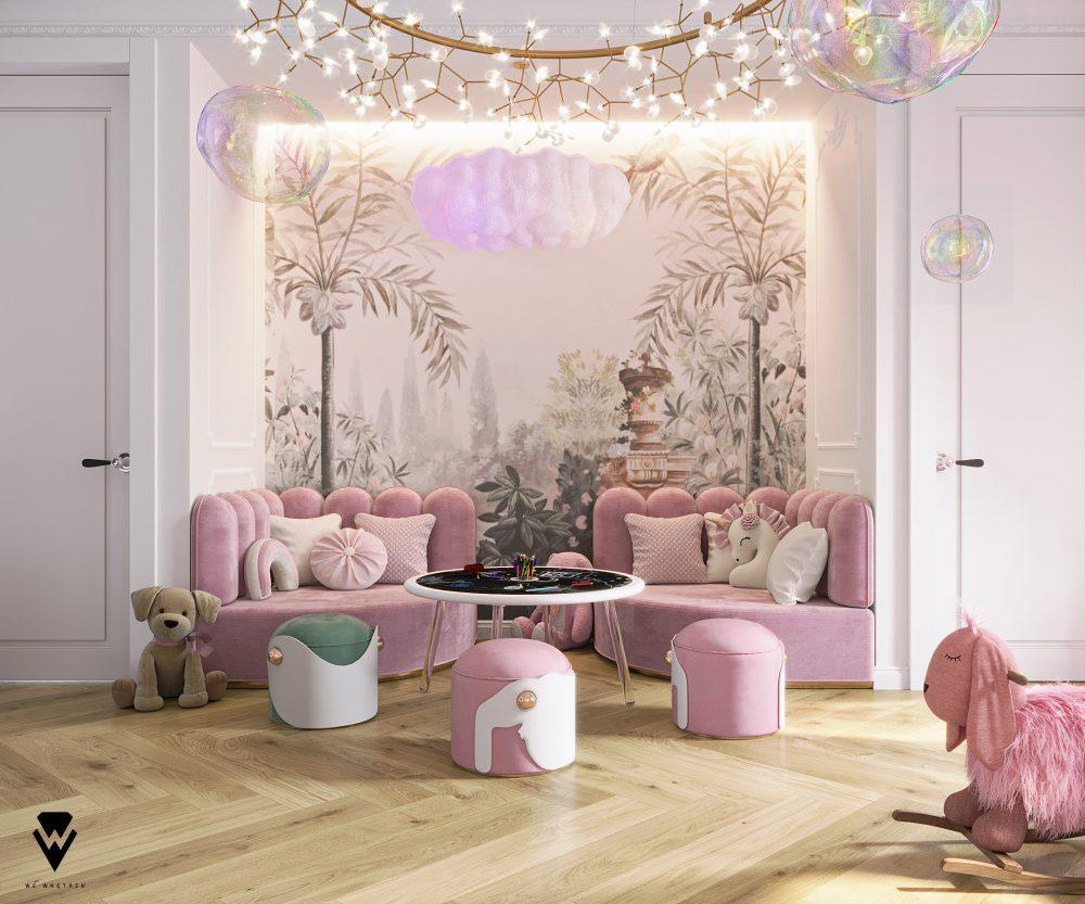 we wnętrzu Kids Bedroom Ideas: A Blossom Fairytale By We Wnętrzu 6 25