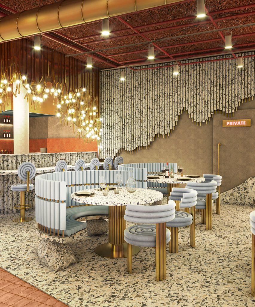 masquespacio Inside Masquespacio's New Restaurant Project 7 19