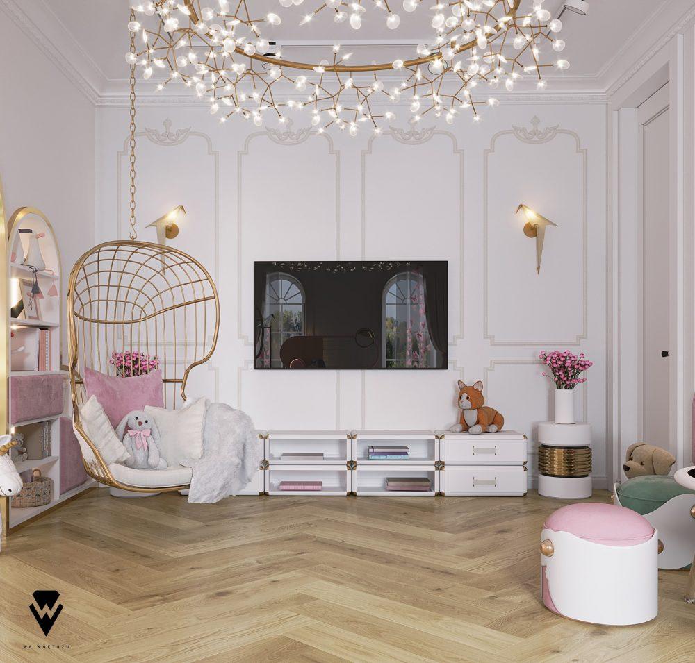 we wnętrzu Kids Bedroom Ideas: A Blossom Fairytale By We Wnętrzu 7 23