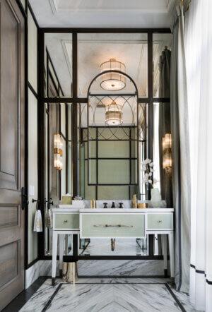 ferris rafauli Ferris Rafauli: Discover The Best Interior Design Projects Ancaster PowderRoom 001 300x442 1
