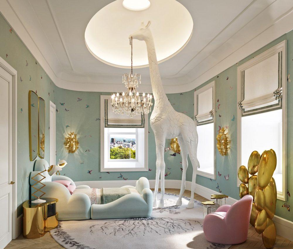 luxury kids room Britto Charette Exquisite Luxury Kids Room britto charette exquisite luxury kids room 1