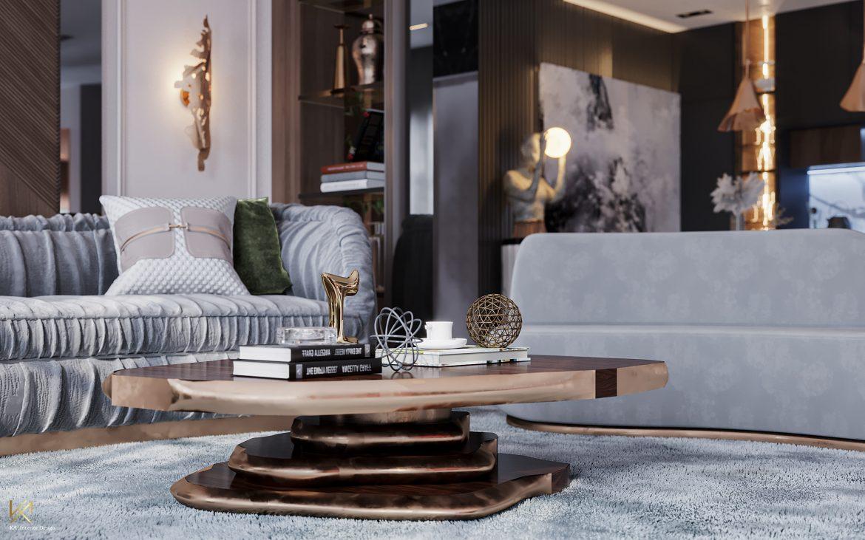Covet House x K.A Interior Design: A Opulent Modern Classic Villa in Riyadh  Covet House x K.A Interior Design:  A Opulent Modern Classic Villa In Riyadh covet house k a interior design lavish modern classic villa riyadh 1