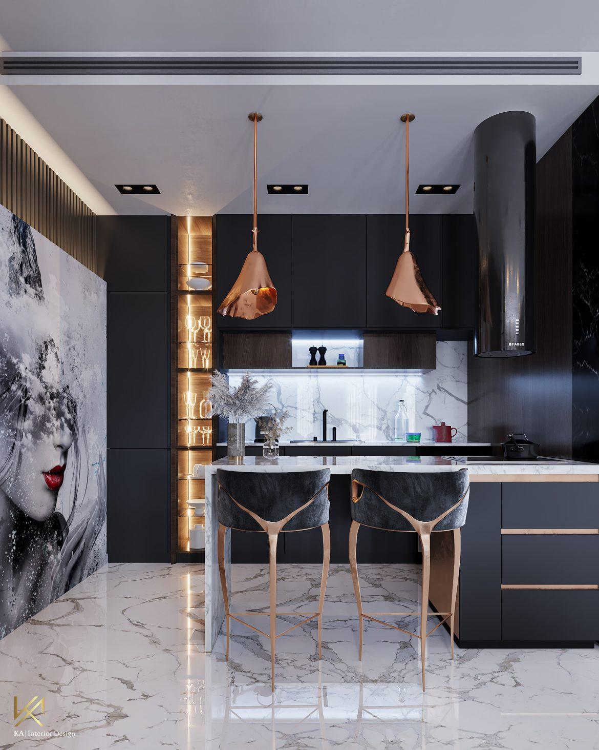 Covet House x K.A Interior Design: A Opulent Modern Classic Villa in Riyadh  Covet House x K.A Interior Design:  A Opulent Modern Classic Villa In Riyadh covet house k a interior design lavish modern classic villa riyadh 7
