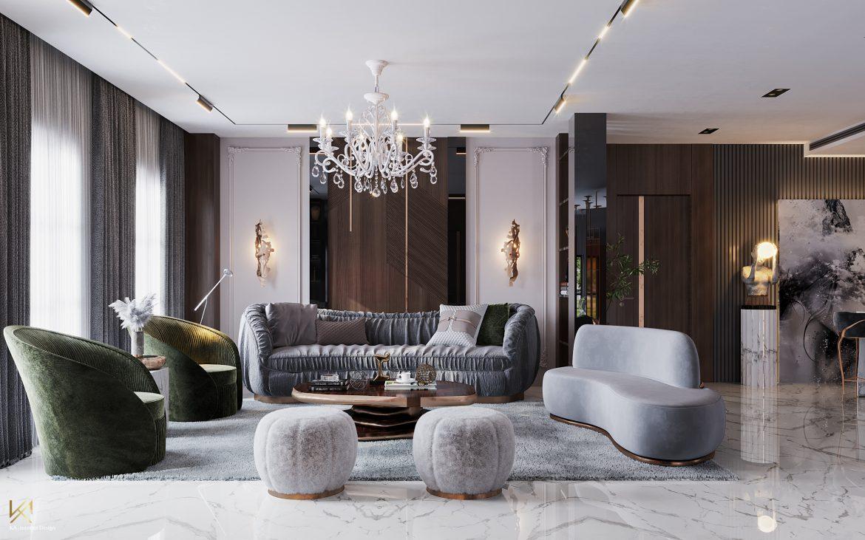 Covet House x K.A Interior Design:  A Opulent Modern Classic Villa In Riyadh covet house k a interior design lavish modern classic villa riyadh 9
