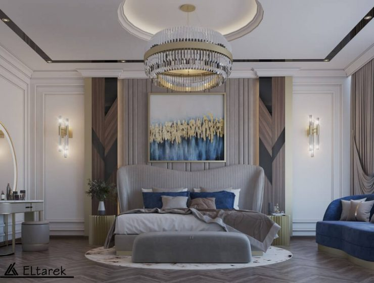 modern classic bedroom This Modern Classic Bedroom Will Astonish You 1 5 1 740x560