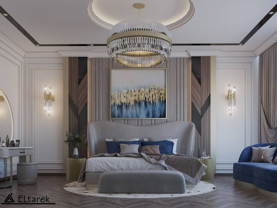 This Modern Classic Bedroom Will Astonish You