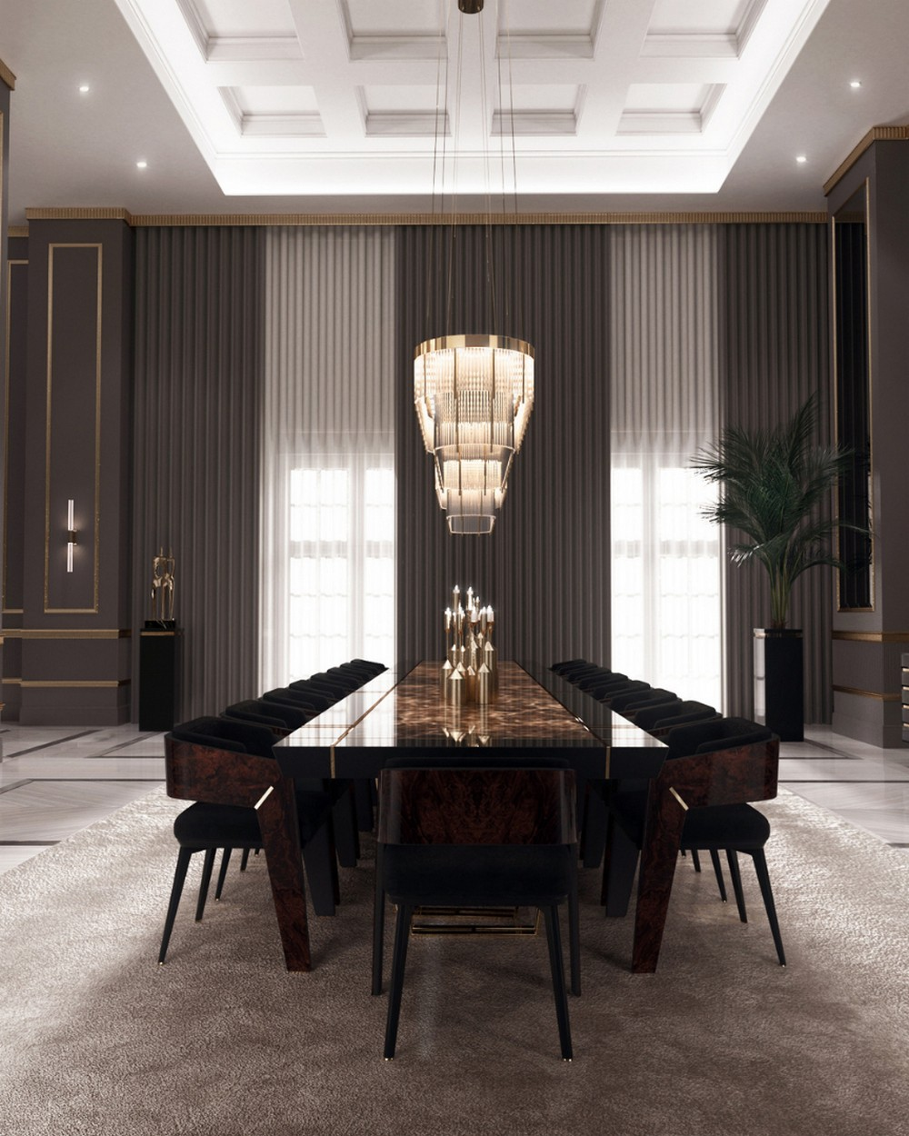 dining room Improve Your Dining Room With These Amazing Ideas 7 5