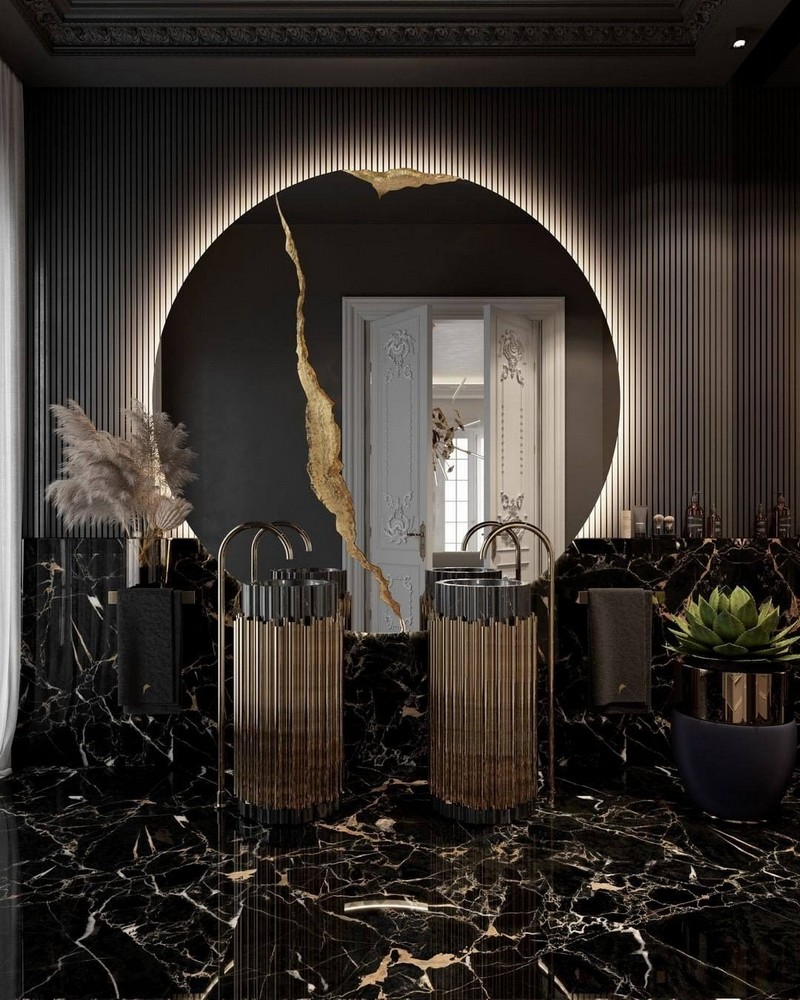 bathroom Add A Luxurious Touch To Your Bathroom With These Ideas 8 3