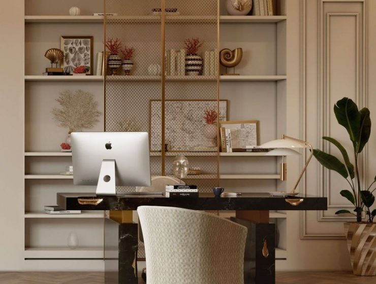 home office ideas Fall In Love With These Home Office Ideas 89 740x560