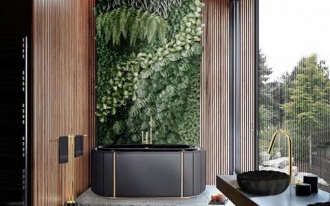 modern classic bathroom Modern Classic Bathroom Design Ideas 9 MV 2 nature inspired bathroom 480x300