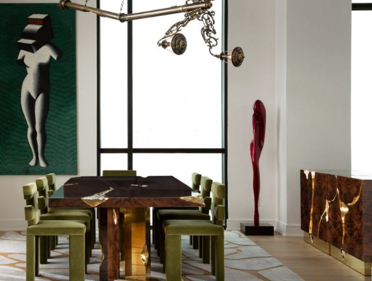 penthouse in texas Penthouse In Texas: Art Deco Meets Contemporary Art Deco ID Project in Texas 4 740x560