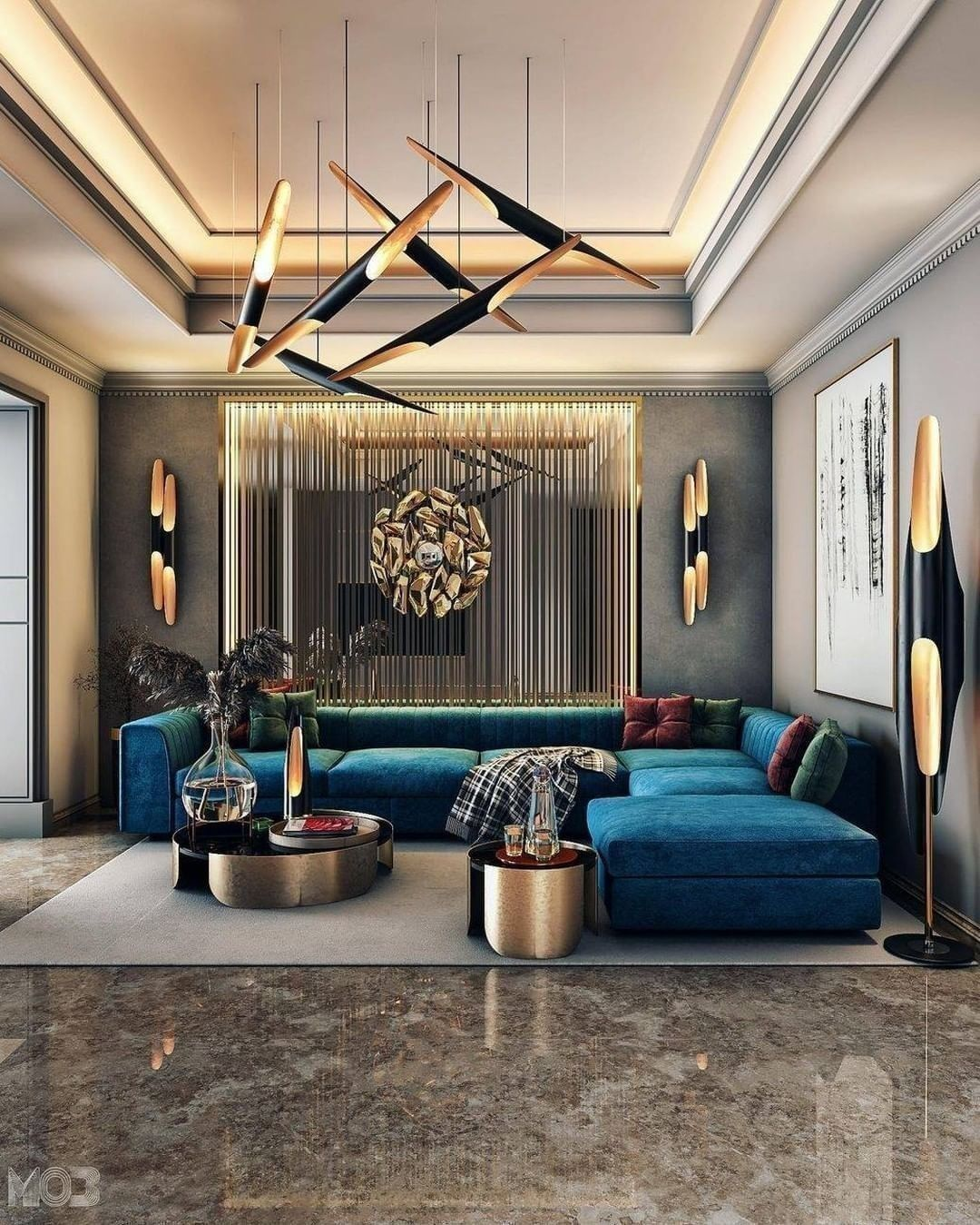 Bring Your Living Room To Life With These Wonderful Ideas living room ideas Bring Your Living Room To Life With These Wonderful Ideas CovetHouse 1