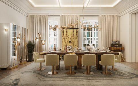 eclectic manor in porto Sneak Peek Inside A Grandiose Eclectic Manor In Porto dining lateral 1 480x300