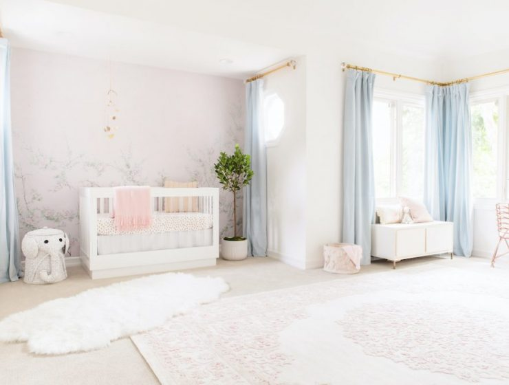 little crown interiors Little Crown Interiors: An Exclusive Interview With Naomi Alon floral girl nursery 1024x683 1 740x560